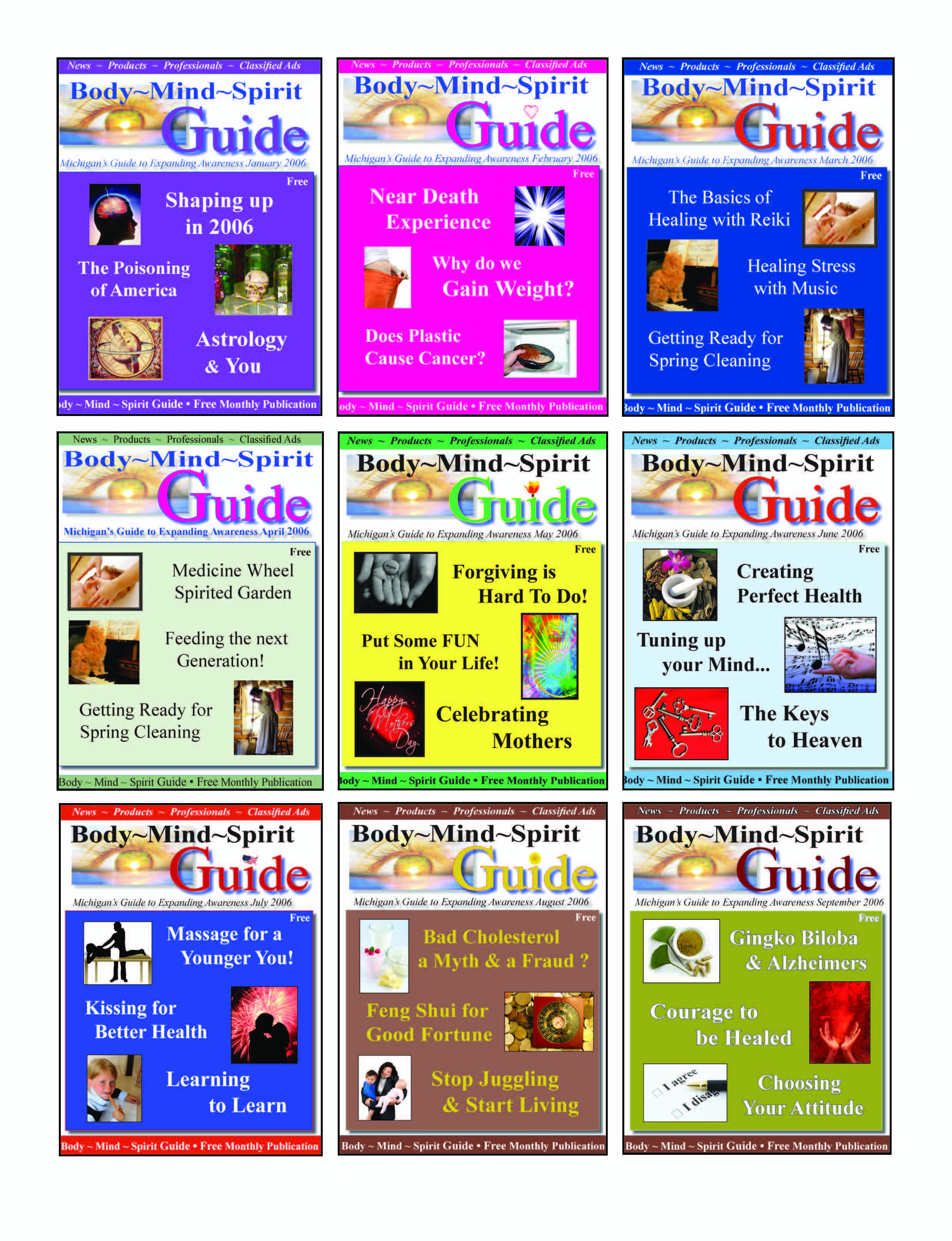 Covers 2006 grouped